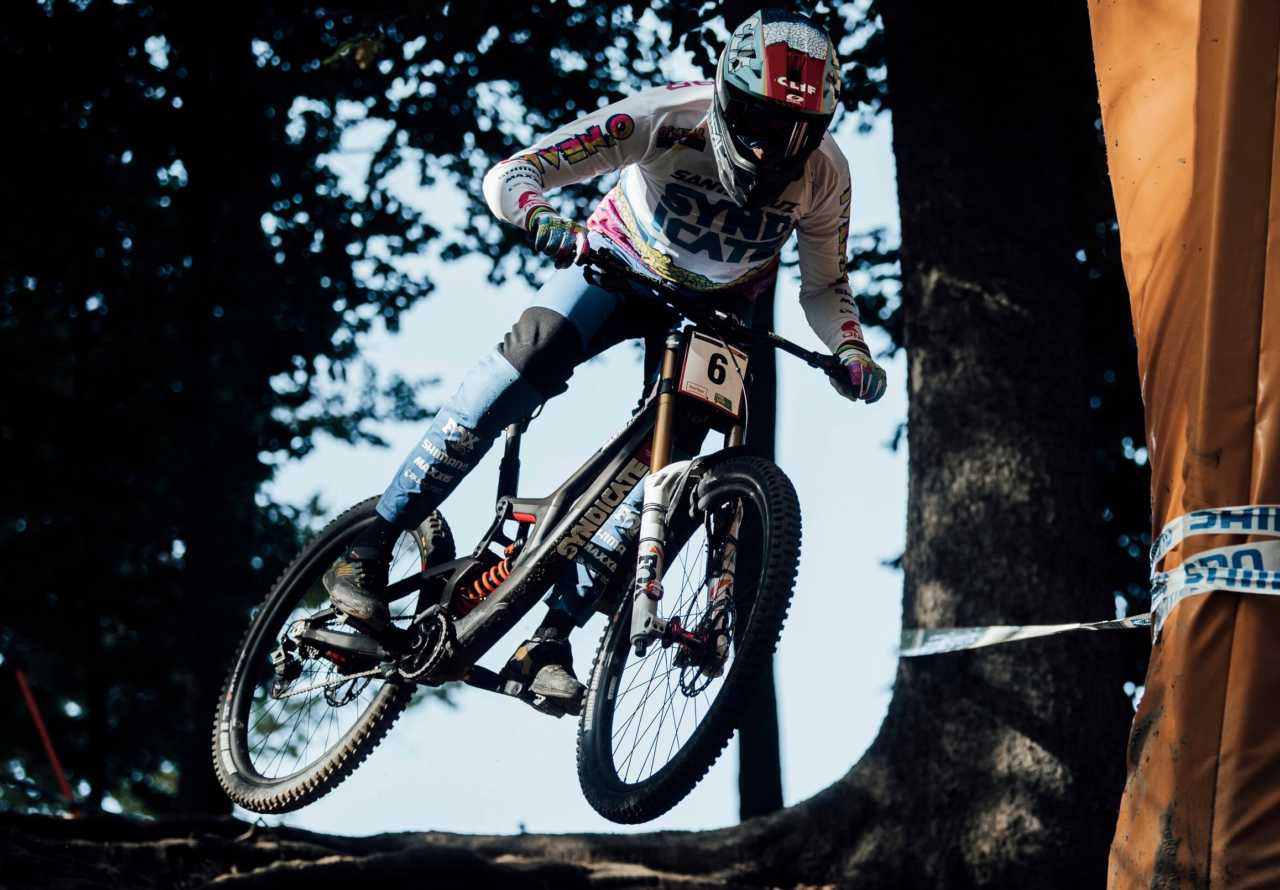 Greg Minnaar at UCI DH World Cup in Maribor, Slovenia on October 17th, 2020