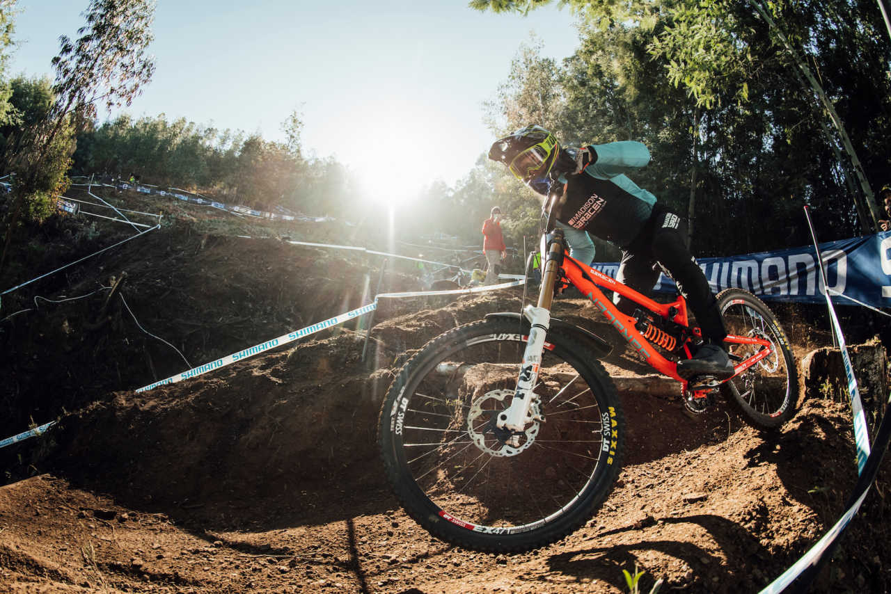 Matt Walker performs at UCI DH World Cup in Lousa, Portugal on October 30th, 2020 // Bartek Wolinski/Red Bull Content Pool // SI202010300635 // Usage for editorial use only //