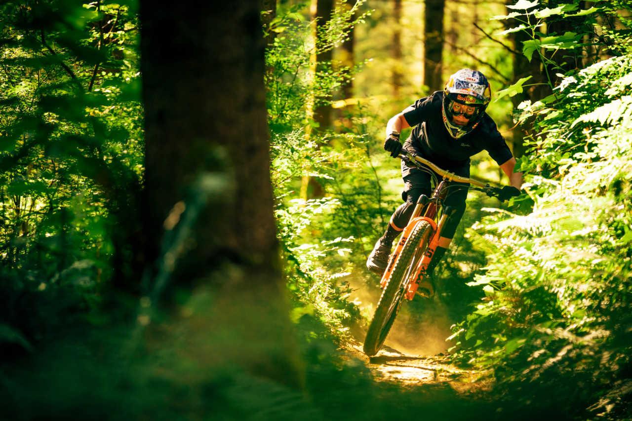 Mountain biker Jill Kintner in Washington Bellingham