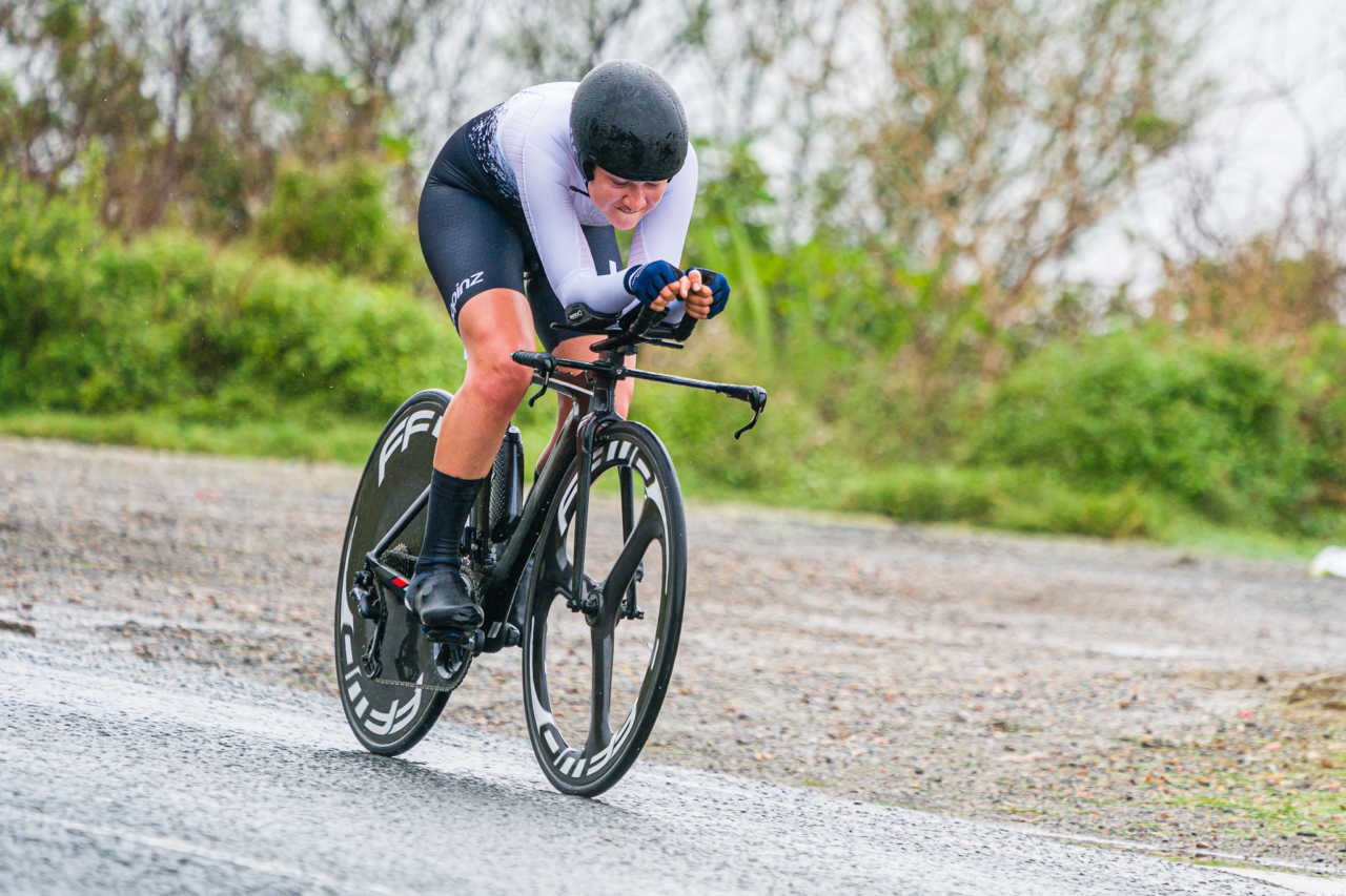 Ryan Gibbons and Candice Lill claim 2021 Individual Time Trial titles at the South African Championships in Swellendam.