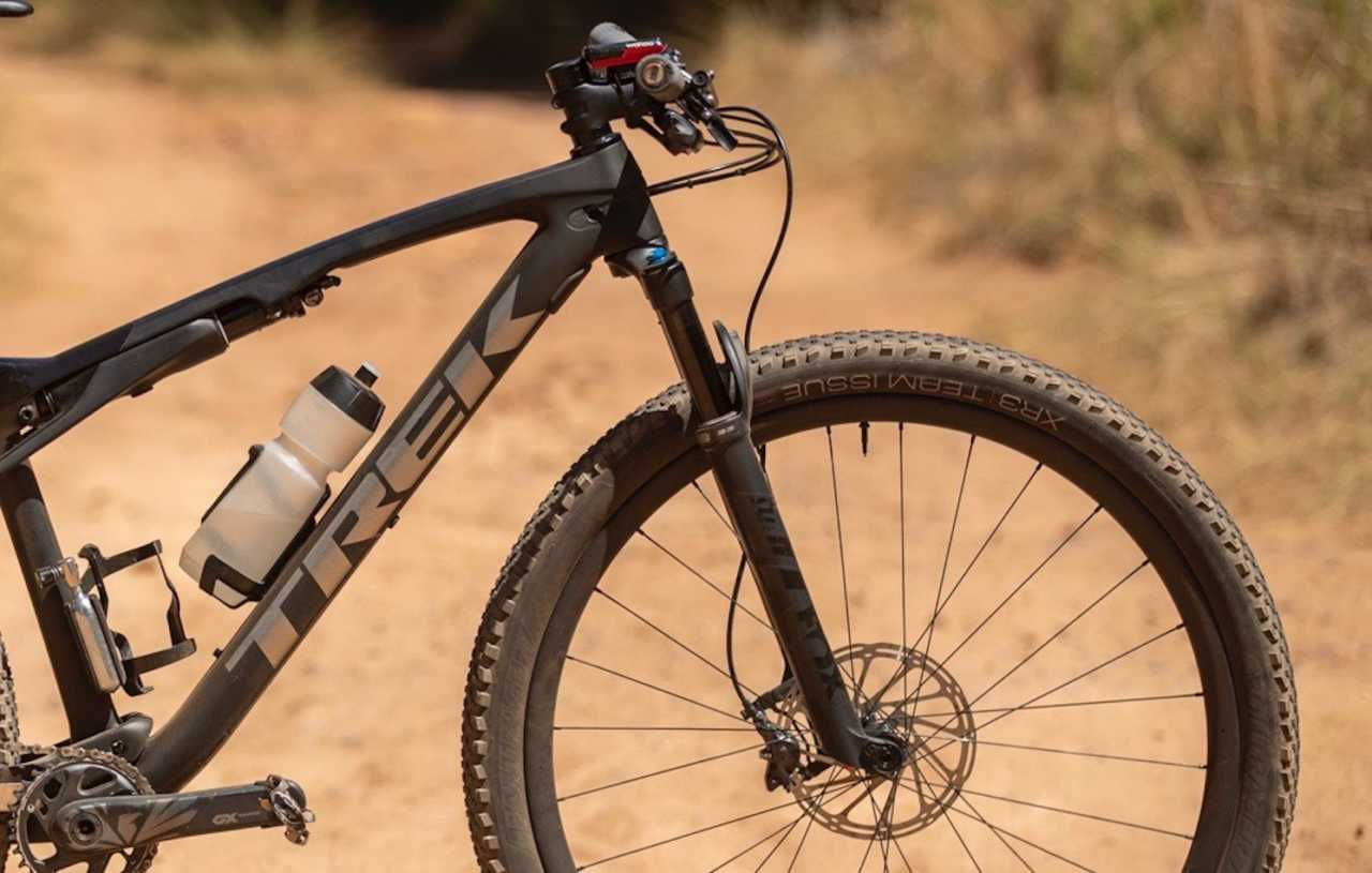 Trek Supercaliber Bike check Luke Moir