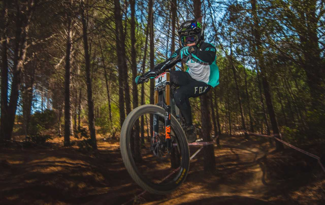 Theo Erlangsen Western Cape Downhill Mountain Bike race in Paarl Results