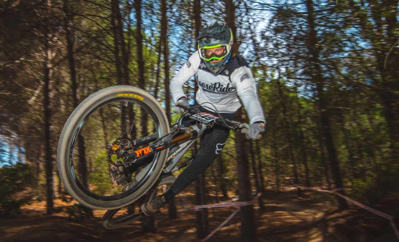 Francois du Toit Western Cape Downhill Mountain Bike race in Paarl Results
