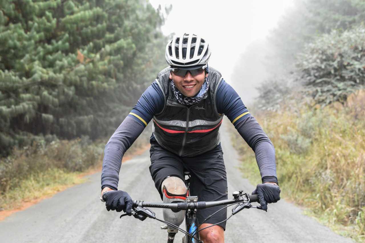 Amputee athlete Reuben van Niekerk talks training, racing and giving back