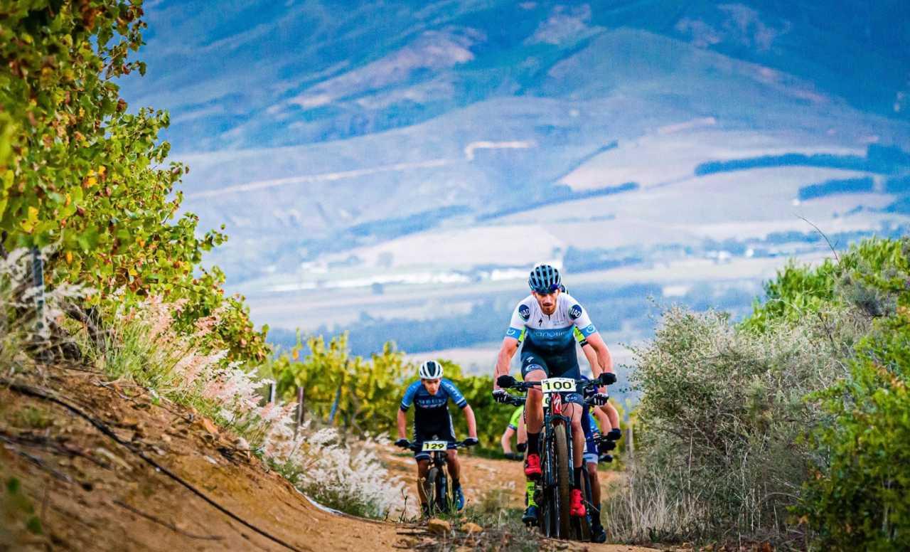 Matt Beers South African Marathon Mountain Bike champion