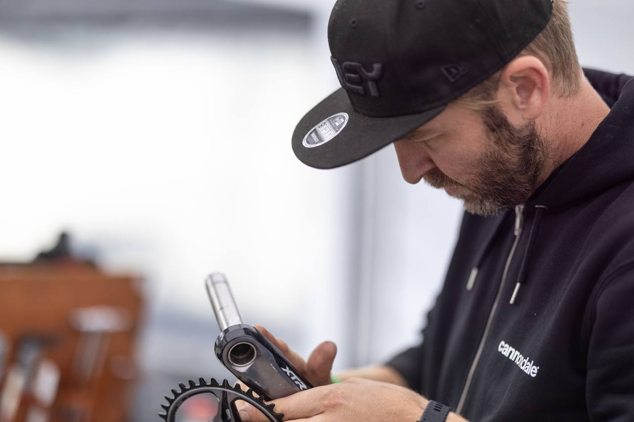 The ever-expanding toolbox of Cannondale Factory Racing's Head Mechanic, JP Jacobs